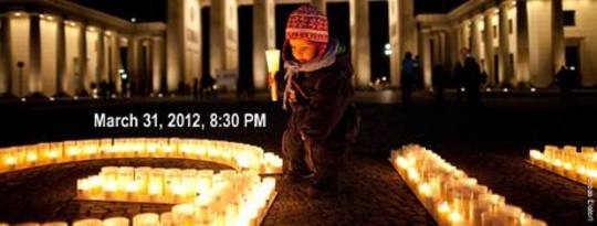 earth hour 2012