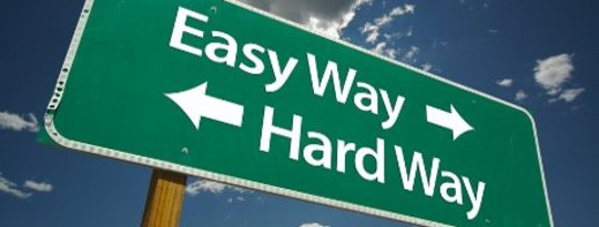 Easy Way, Hard Way: Letting Go de Lucha
