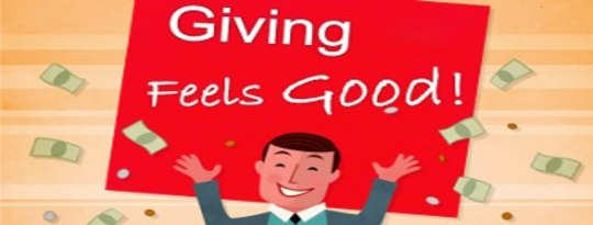 Feeling Down? Give to Feel Good