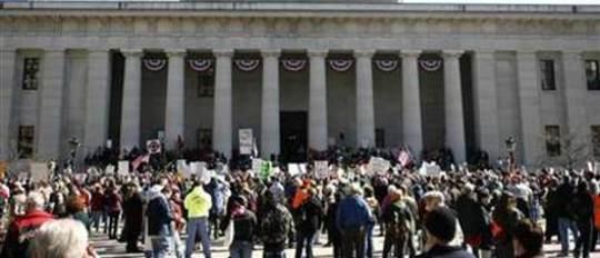 Избиратели Огайо отвергают законопроект