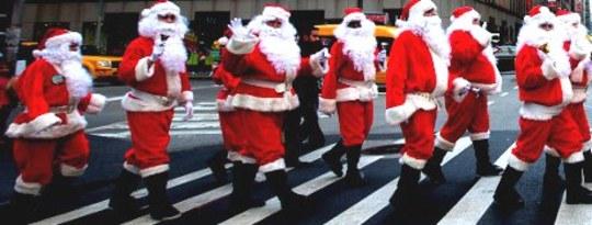 Noel Baba'nın Herkesin En Değerli Hediyesini Sunması