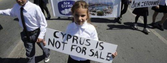 Chypre n'est pas à vendre