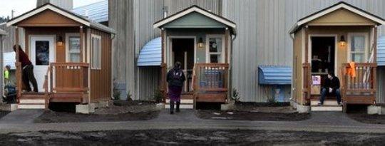 La lutte des sans-abri d'Olympia pour le logement permanent