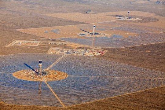 最大的集中太阳能发电厂