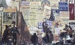 "John Orlando Parry,""伦敦街头现场"",1835。 ©Alfred Dunhill Collection(维基共享资源)"