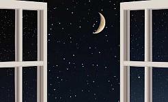 通过拥抱月亮寻找平静,舒适和力量