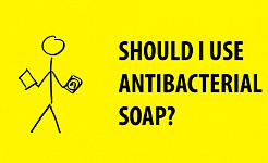 ทำไมคุณควรจ่ายสบู่ต้านเชื้อแบคทีเรีย