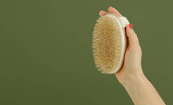 Skin Brushing para sa Lymphatic System