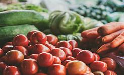 Positive poeng oppstår for beskyttende matvarer som frukt og grønnsaker. Sven Scheuermeier / Unsplash, CC BY