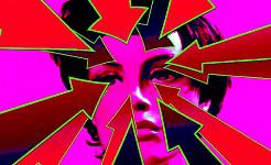 Einfache Reflexology Pointer für Kopfschmerzen