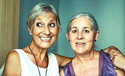 Senioren mit aktiven sozialen Leben haben gesündere Lungen