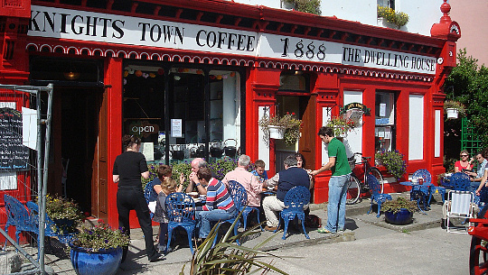 coffee shop, Valentia Island, Ireland