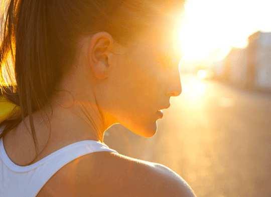 نور خورشید به عنوان پزشکی