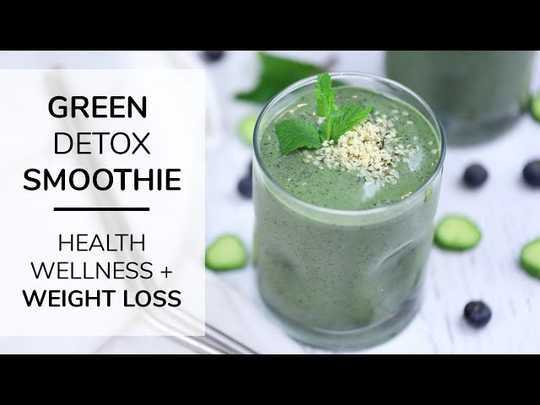 ricette di frullati nutrienti per la perdita di peso